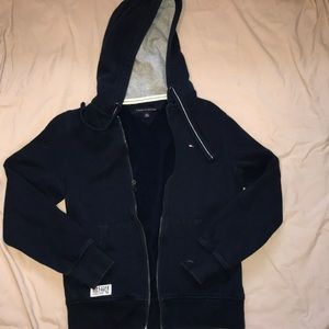 Tommy Hilfiger navy blue zip up